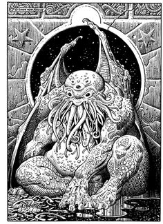 Cthulhu by William Stout