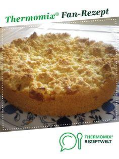 Apfelkuchen mit Pudding und Streusel von W-Sabrina82. Ein Thermomix ® Rezept aus der Kategorie Backen süß auf www.rezeptwelt.de, der Thermomix ® Community.