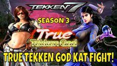 TRUE TEKKEN GOD KAT FIGHT! (Tekken 7 Season 3)- Katarina VS Zafina Match... Tekken 7, Season 3, My Girl, Comic Books, God, Comics, Cover, Youtube, Dios
