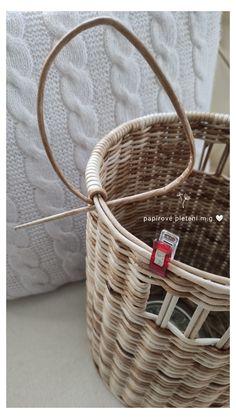 Paper Weaving, Basket Weaving, Wicker Baskets, Vines, Christmas Ornaments, Decor, Hampers, Wicker, Decoration