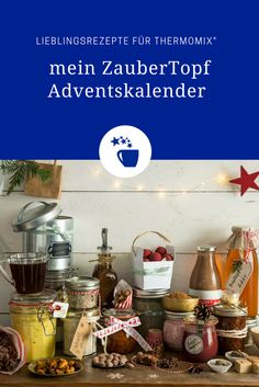 Kennt ihr schon unseren großen Adventskalender für Thermomix®️ und… Do you already know our large advent calendar for Thermomix®️ and The big my Magic Pot Advent calendar starts tomorrow. 24 prizes worth € are waiting for you! How To Make Dough, Food To Make, Christmas Cupcakes, Christmas Diy, Fermented Bread, Ab Day, Need A Recipe, Smart Kitchen, Hello Winter