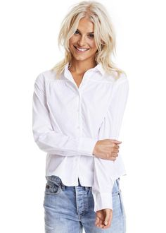 Odd Molly Skjorte 717M-774 Duet Shirt - bright white