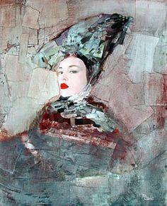 Richard Burlet (n. Portrait Art, Portraits, Richard Burlet, World Famous Artists, Pop Surrealism, Figure Painting, Figurative Art, Painting Inspiration, Collage Art