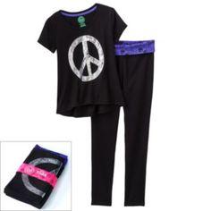 SO Tee & Skinny Yoga Pants Gift Set - Girls Plus