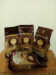 Sidikalang Robusta Coffee @ 250 gram only USD 2.10 roasted fine grind. Indonesia Specialities Coffee.