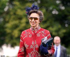 Princess Elizabeth, Royal Princess, Queen Elizabeth Ii, Prince Phillip, Prince William And Kate, Prince Harry And Meghan, Cobalt Blue Fascinator, Royal Ascot Races, Lady Ann