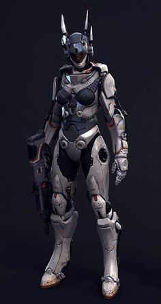 Valkyrie Robot by Heat3d