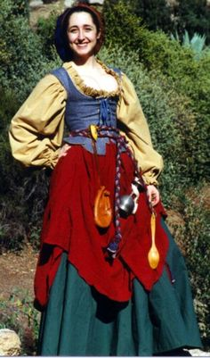 Bet I could come up with something like this for Ren Fest is a few months.