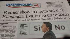 il popolo del blog,notizie,attualità,opinioni : per Taranto arriva un m iliardo,perchè con i Riva ...