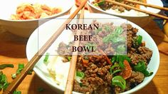 Our Creative Chaos & Coffee Korean Beef Bowl, Weekend Recipe, Main Dishes, Meat, Coffee, Creative, Recipes, Food, Main Courses