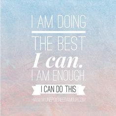 Positive affirmation