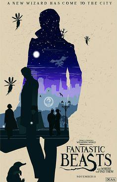 Fantastic beast fan movie poster