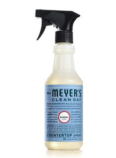 Mrs. Meyer's Clean Countertop Spray, $3.99  Mrs. Meyer's Clean is one of my very favorite cleaners that I use all the time (along with Method) — and they're made with natural essential oils, and are biodegradable and phosphate-free. I especially love how long they last!