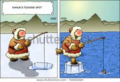 Find Climate Change Cartoon Series Nanuks Fishing stock images in HD and millions of other royalty-free stock photos, illustrations and vectors in the Shutterstock collection. Goat Shed, Banana Blossom, Thing 1, Climate Change Effects, Change Background, Environmental Graphics, Animal Quotes, Cartoon Images, Square Quilt