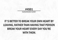 Art Break your own heart quotes