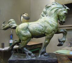 Horse Sculpture, Sculpture Clay, Abstract Sculpture, Famous Sculptures, Animal Sculptures, Horse Anatomy, Horse Illustration, Power Animal, Horse Drawings