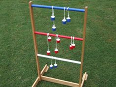 Take ladder ball the beach this summer, or keep everyone busy in the backyard during a party or barbecue.