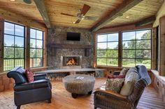 Rustic Grandeur in Lake Elmo by Divine Custom Homes