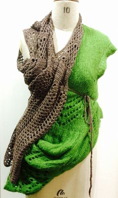 Deconstruct & deconstruct with knit