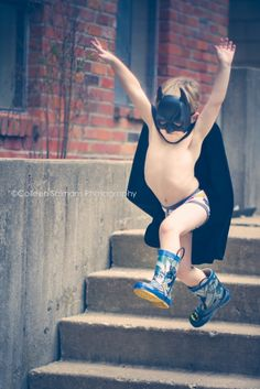 kid session - batman colleensalmansphotography.com » Kansas City Portrait & Child Photographer
