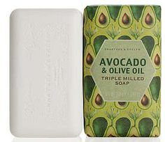Avocado Milled Soap by Crabtree & Evelyn (5.57 oz bar)