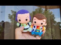 Woody Amigurumi Crochet 2/2 - Toy Story - YouTube Giraffe Crochet, Crochet Toys, Crochet Baby, Free Crochet, Amigurumi Patterns, Amigurumi Doll, Kawaii Crochet, Crochet Disney, Crochet Dolls