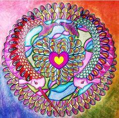 Inspirational Coloring Pages by Diana Kean #inspiração #coloringbooks #livrosdecolorir #jardimsecreto #secretgarden #florestaencantada #enchantedforest #reinoanimal #animalkingdom #adultcoloring #milliemarotta #wendypiersall #oceanmandalas