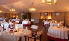 Dining Tent, Governors Camp, Masai Mara, Kenya, Safari