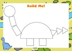 Build a dino Dinosaur Theme Preschool, Dinosaur Activities, Preschool Learning Activities, Dino Craft, Superhero Classroom, Kids And Parenting, Teaching, Darwin, English