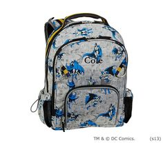 Batman™ Backpacks | Pottery Barn Kids