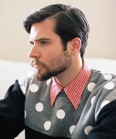 Lazy Oaf Shoulder Spot Sweatshirt. i kind of love this!