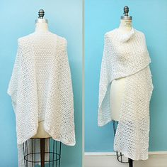 Crochet Spring Ruana