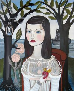 The Girl. Mercedes Lagunas.