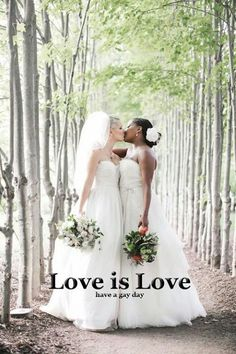 Okay lesbihonest I would love to go wedding dress shopping with my wife!! (If only I was gay lol)