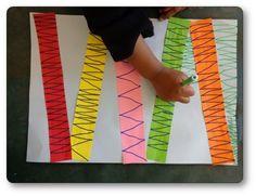 Atelier graphique lignes brisées 2