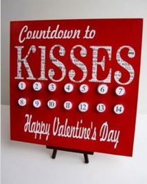 Make creative home or party Valentine decorations. Valentine gift ideas for kids, teachers, him, her. Valentine crafts for adults to make. My Funny Valentine, Valentine Day Kiss, Happy Valentines Day, Valentines Day Activities, Valentine Day Crafts, Valentine Ideas, Valentine Wreath, Homemade Valentines, Love Surprise