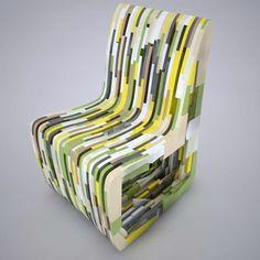 Leftover, la collezione di Rabih Hage per Corian Color Evolution