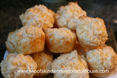 garlic cheese mini biscuits - red lobster knock off