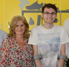 Stephen Sutton (pictured with his mum) who tragically died yesterday after battleing cancer aged just 19. He raised over 3.4 millon pounds to a cancer charity. A very sad loss of a true hero and inspiration to us all