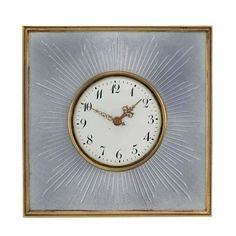 Gold, Silver and Gray Guilloche Enamel Desk Clock, Fabergé.Photo courtesyDoyle New York