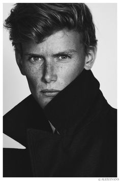 Malcolm De Ruiter Poses for New Images by Alex Evans