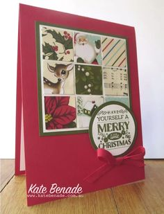 2015 Stampin' Up! Holiday Catalogue, Cozy Christmas stamp set, Home for Christmas dsp, Kate Benade Stampin' Up! Demonstrator Melbourne Australia, www.katebenade.com