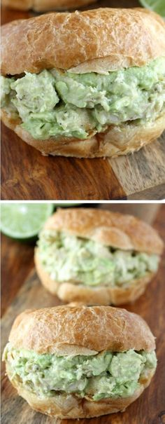 This avocado chicken salad is perfect for avocado lovers! Serve this on a whole wheat bun or wrap for a lighter option.