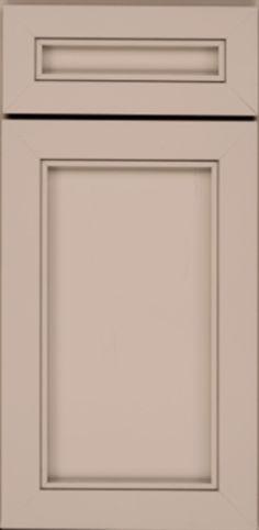 Door Detail - Square Recessed Panel - Veneer (AA6M) Maple in Dove ...