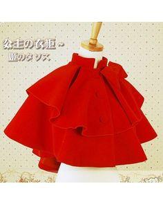 Lolita Princess Church Bell Sweet Cashmere Lolita Cape $74.99-Lolita Jackets - My Lolita Dress