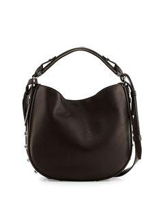 a3202612c0bf V1Z5Y Givenchy Obsedia Small Nail-Head Hobo Bag