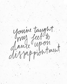 Just love these beautiful lyrics by @amandalindseycook - they speak so deeply to me of a journey I'm still on.. This past week it's more like 'you will' than 'you have' - but I'm so ready to truly learn how much the joy He brings exceeds the disappointment life brings. It's a head truth, And I'm on a journey of it becoming a heart truth. I hope your Monday has been wonderful!  Ps. Disappointment is a really tough word to write...  haha {five hours later.. Realised it's also spelt wrong..}