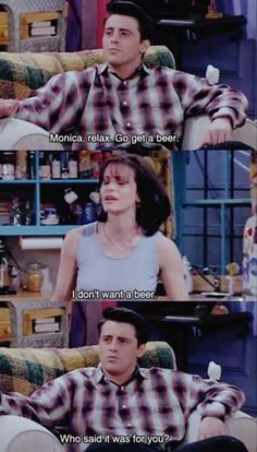 Joey Knows His Priorities