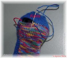 "Носки "" Вечные "" Два МК. Спеши - торопись, не носки, а - живопись!!! Серия ""Носочные рассказы"" - Страна Мам Knitting Stitches, Knitting Socks, Knitted Hats, Knitting Patterns, Baby Boots, Mittens, Diy And Crafts, Knit Crochet, Slippers"