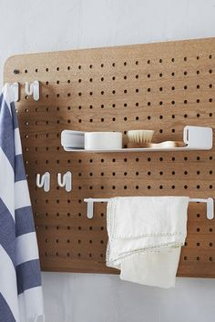 Upgrade Your Bathroom In Just Minutes #refinery29 http://www.refinery29.com/stylish-bathroom-accessories#slide2